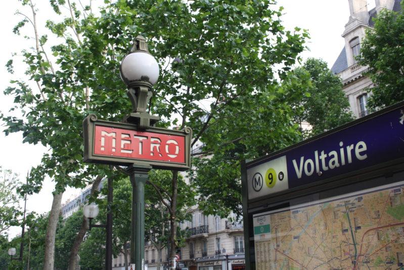 Métro Voltaire - Psy Paris 11