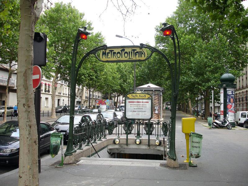 Métro Philippe Auguste - Psy Paris 11