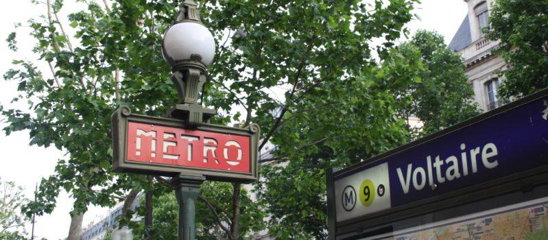 Métro Voltaire Psy Paris 11